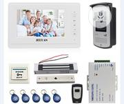 7 Inch Video Intercom Kit +Monitor+RFID+ 180kg Maglock Access Control | Home Appliances for sale in Lagos State, Ikeja