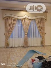 Latest Curtain Design With Italian Frame | Home Accessories for sale in Lagos State, Lagos Island