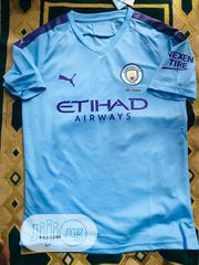 Man City 2019/20 Home Jersey | Clothing for sale in Lagos State, Oshodi-Isolo