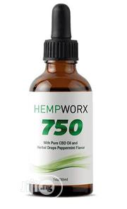 Hempworx 750 Pure CBD Oil and Herbal Drops | Vitamins & Supplements for sale in Lagos State, Lekki Phase 1