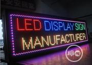 LED Display Signage | Manufacturing Services for sale in Rivers State, Obio-Akpor