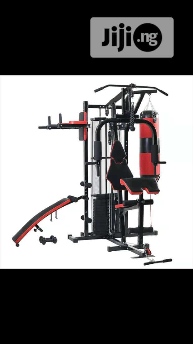 3 Station Multipurpose Gym Machine.