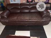 Set Of Living Room Sofa (Big 3-seater And A 1-seater)   Furniture for sale in Oyo State, Ibadan North East