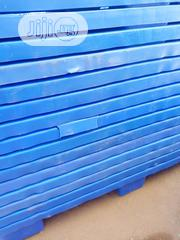 Blue Nestable 120 By 100cm Plastic Pallets | Building Materials for sale in Lagos State, Agege