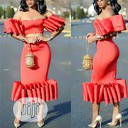 Fashion Ruffle Cocktail Dress | Clothing for sale in Rivers State, Port-Harcourt
