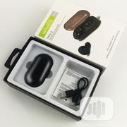 Bluetooth TWS-2 5.0 Sports Earbud With Charging Box   Headphones for sale in Lagos State, Ikeja