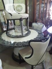 Newly Imported Round Crystal Dinning Table With Chairs | Furniture for sale in Lagos State, Lagos Mainland