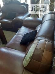 Super Quality And Durable Royal Leather Sofa | Furniture for sale in Lagos State, Lagos Mainland