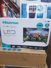 Brand New Hisense 32 Inches Satellite Television Full HD With Warranty | TV & DVD Equipment for sale in Lagos State, Ojo
