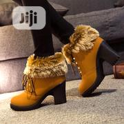 Classy Ladies' Amber Fur Boots | Shoes for sale in Lagos State, Ikorodu