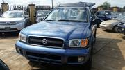 Nissan Pathfinder 2002 LE AWD SUV (3.5L 6cyl 4A) Blue | Cars for sale in Ogun State, Ijebu Ode