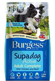 Burgess Dog Food Puppy Adult Dogs Cruchy Dry Food Top Quality | Pet's Accessories for sale in Lagos State, Victoria Island