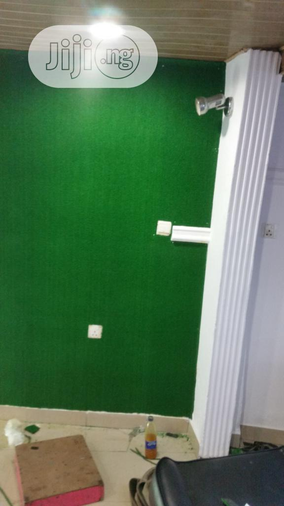Synthetic Grass For Wall Decoration In Nigeria