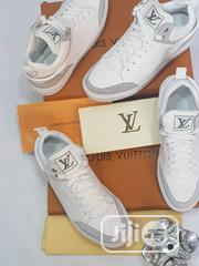 Louis Vuitton White Sneakers | Shoes for sale in Lagos State, Lagos Island