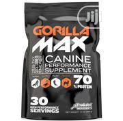 Gorilla Max High Performance Muscle Builder Supplement For Dog Puppy | Pet's Accessories for sale in Lagos State, Victoria Island