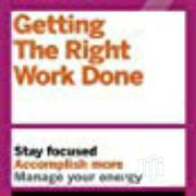 H.B.R. Getting The Right Work Done | Books & Games for sale in Lagos State, Surulere