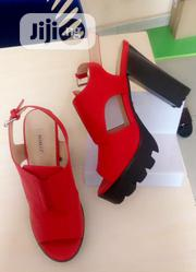 Red Platforms Sandals for Ladies | Shoes for sale in Lagos State, Ajah