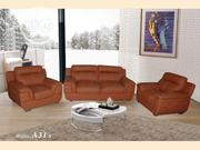 Brown Sofa Chair, Made of Good Leather | Furniture for sale in Abuja (FCT) State, Garki I