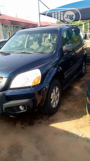 Honda Pilot 2004 EX 4x4 (3.5L 6cyl 5A) Blue | Cars for sale in Delta State, Oshimili South