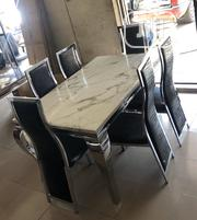 Marble Dining Table | Furniture for sale in Lagos State, Ifako-Ijaiye