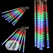 8 Tube Falling Rain Christmas Lights Waterproof LED | Home Accessories for sale in Lagos State, Ojo