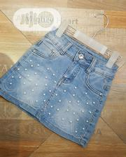 Pearls Jeans Skirt | Children's Clothing for sale in Lagos State, Alimosho