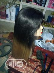 "18"" Human Hair Wig 