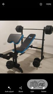 Weight Bench With Weight | Sports Equipment for sale in Lagos State, Magodo