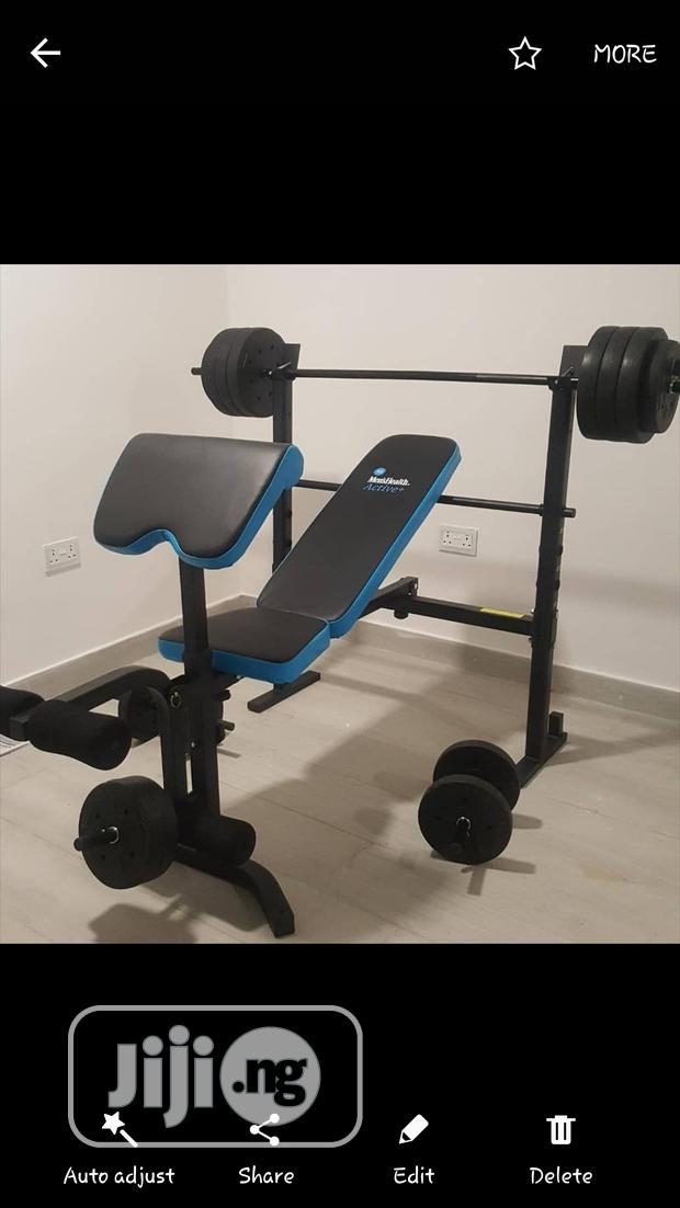 Weight Bench With Weight