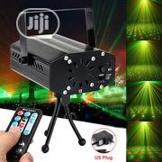 Mini Laser Projector Stage Light LED RGB Xmas Party KTV DJ Disco | Stage Lighting & Effects for sale in Lagos State, Ojo