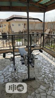 Weight Lifting Bench With Multipurpose Gym | Sports Equipment for sale in Lagos State, Magodo