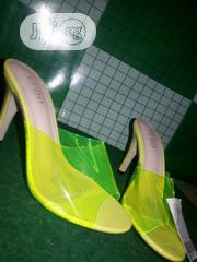 Transparent Lemon Heel Sandal | Shoes for sale in Lagos State, Alimosho