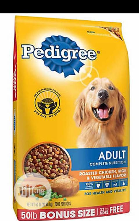 Pedigree Dog Food Puppy Adult Dogs Cruchy Dry Food Top Quality