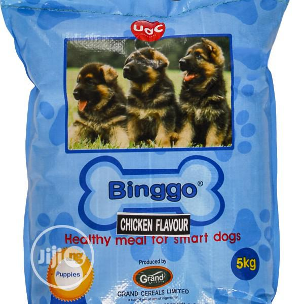 Binggo Dog Food Puppy Adult Dogs Cruchy Dry Food Top Quality