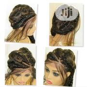 Braided Wig Braided Lace Wig Custom Made | Hair Beauty for sale in Lagos State, Lagos Mainland
