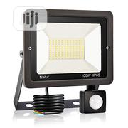 100W PIR Motion Sensor Waterproof Flood Light | Security & Surveillance for sale in Lagos State, Ikeja