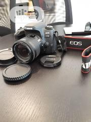 Canon EOS 77D DSLR Camera With Ef-S 18-55mm Kit Lens Black for Sale | Photo & Video Cameras for sale in Abuja (FCT) State, Gudu