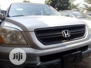 Honda Pilot 2005 LX 4x4 (3.5L 6cyl 5A) Silver | Cars for sale in Lagos State, Ikotun/Igando