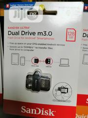 3.0 USB Dual Drive 128gb OTG Flash   Computer Accessories  for sale in Lagos State, Ikeja