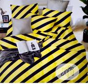 Colourfully Designed Yellow And Blue Stripe Duvet Set 6/6 | Home Accessories for sale in Lagos State, Lagos Mainland