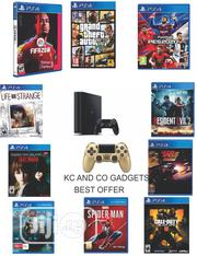 Playstation 4 With 2 Pads And 10 Latest Games | Video Games for sale in Lagos State, Ikeja