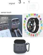 Origina Inpod10 And Smart Watches And Xtra Airpod Case   Headphones for sale in Lagos State, Ikeja
