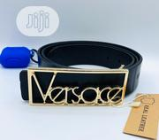 Versace Patent Leather Belt - Black | Clothing Accessories for sale in Lagos State, Lagos Island