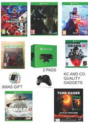 Xbox One Console With 2 Pads, Gift And 8 Latest Games | Video Game Consoles for sale in Lagos State, Ikeja