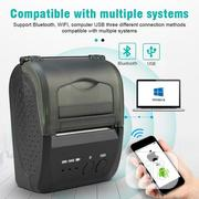 Portable Mobile Mini Bluetooth POS 58mm Thermal Printer | Printers & Scanners for sale in Lagos State, Ikeja