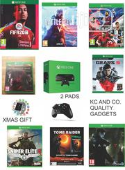 Xbox One Console With 2 Pads, Xmax Gift And 8 Latest Installed Games | Video Game Consoles for sale in Lagos State, Ikeja