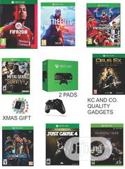 Xbox One Console With 2 Pads, Xmas Gift And 8 Latest Installed Games | Video Games for sale in Lagos State, Ikeja