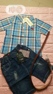 Quality Shirt & Short/Three Quarter | Children's Clothing for sale in Lagos State, Alimosho