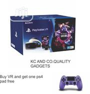 Playstation 4 VR With ONE PS4 Pads | Accessories for Mobile Phones & Tablets for sale in Lagos State, Ikeja