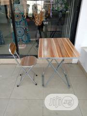 Foldable Reading Table With the Chair | Furniture for sale in Lagos State, Yaba